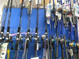 今すぐ釣り場に行けるセット竿も多数あり!