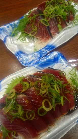 高知県 スーパーのカツオのタタキ