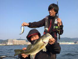 5/22(日)スタッフ琵琶湖釣行。