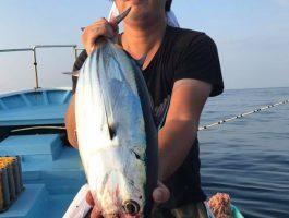 【和歌山県釣果情報】潮岬沖のカツオ