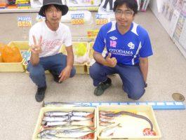小浦一文字での釣果です。