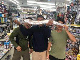 青岸にてBIG太刀魚!