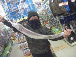 マイポイントでBIG太刀魚