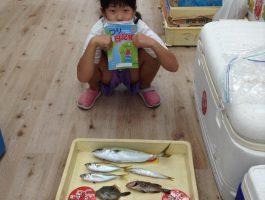 【つり日記帳】由良海釣り公園でツバス!アジ!など魚種多彩