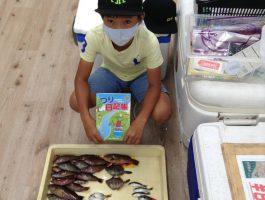 【つり日記帳】マリーナシティで7魚種ゲット!